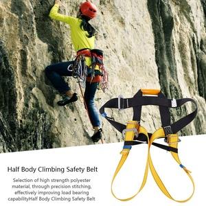 Weiyiroty Sicherheit Klettergurt im Freien Klettergurt, Klettergurt, Sicherheitsgurt, Abseilgurt Klettern für Bergsteiger