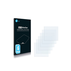 Savvies Schutzfolie für Muster (A6), (6 Stück), Folie Schutzfolie klar
