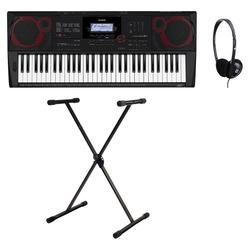 Casio CT-X3000 Midi Keyboard Set inkl. Keyboardständer & Kopfhörer
