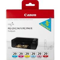 Canon PGI-29 C/M/Y/PC/PM/R Multipack color