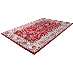 Teppich Isfahan 741, Obsession, rechteckig, Höhe 11 mm, Orient-Optik, Wohnzimmer rot 160 cm x 230 cm x 11 mm