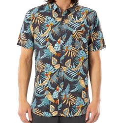 Rip Curl - Hawaiian S/S Shirt Navy  - Hemden - Größe: S