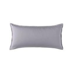 Schlafgut Kissenbezug, (1 St.) grau Kissenbezüge uni Kissen Kissenbezug