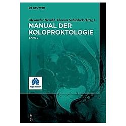 Manual für Koloproktologie - Buch