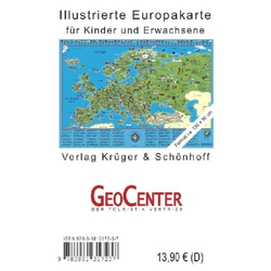 Kinder Europakarte