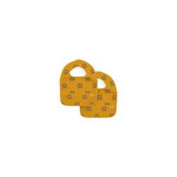 Jollein Lätzchen Lätzchen wasserdicht, Tiger mustard gelb