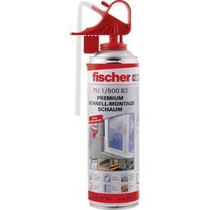 Fischer PU 500 B2 Montageschaum Herstellerfarbe Beige 50426 500ml