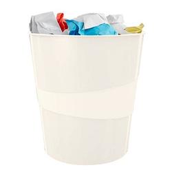 LEITZ WOW Duo Colour Papierkorb 15,0 l weiß