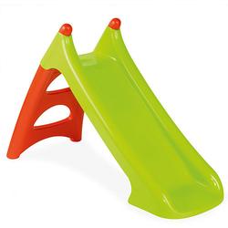 XS Rutsche, 90 cm Rutschlänge grün/rot