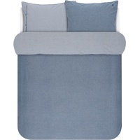 Marc O'Polo Washed Chambray blau (200x220+2x80x80cm)