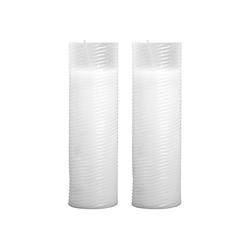 HS Candle Grabkerze (2-tlg), Nachfüllkerze 2er Pack, N1-N5, Ersatzkerze Grablicht 5,8 cm x 24 cm