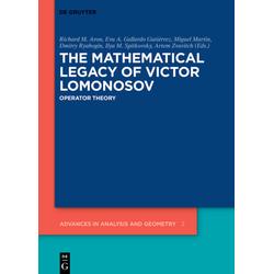 The Mathematical Legacy of Victor Lomonosov als Buch von