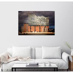 Posterlounge Wandbild, Elbphilharmonie 100 cm x 70 cm