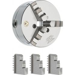 Optimum BISON Dreibackendrehfutter Guss Ø 200 mm Camlock DIN ISO 702-2 Nr. 4 - Dreibackendrehfutter Camlock zentrisch spannend