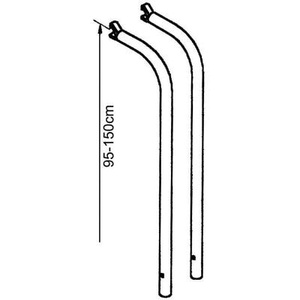 Thule Verlängerungsset für Lift V16 Fahrradträger, 95-150cm