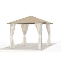 Grasekamp Ersatzdach 3x3m Gartenpavillon Nizza  Sand Pavillon Partyzelt Bezug universal
