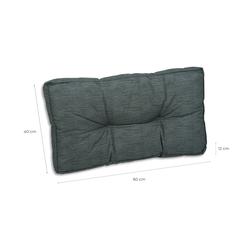 GO-DE Lounge-Ersatzkissen  Lounge ¦ grau