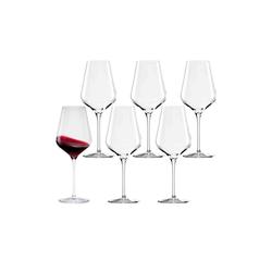 Stölzle Rotweinglas QUATROPHIL Rotweinglas 570 ml 6er Set (6-tlg), Glas