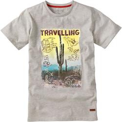 T-Shirt Travel, weiß, Gr. 164/170 - 164/170 - weiß