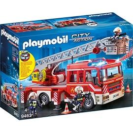 Playmobil City Action Feuerwehr-Leiterfahrzeug 9463