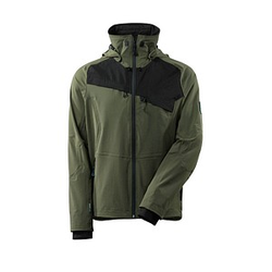MASCOT® Herren Regenjacke Advanced grün Größe 3XL