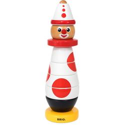 BRIO Stapelspielzeug Clown 60. Geburtstag (9-tlg.) bunt Kinder Ab 12 Monaten Altersempfehlung