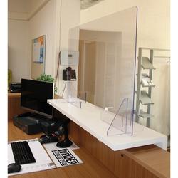 Hygiene Schutzwand (Größe: Breite 60 cm x Höhe 75 cm)