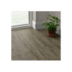 neu.holz Vinylboden, Mons Vinyl Laminat Bodenbelag Dekor-Dielen Selbstklebend ca. 1m² Grey Accent Oak beige