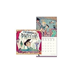 Uncoated Paper Calendar 2021 - Pinocchio