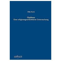 Orpheus. Otto Kern  - Buch