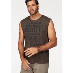 Man's World Muscleshirt, aus reiner Baumwolle grau Herren Tank Tops Shirts Muscleshirt
