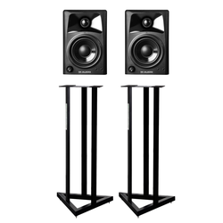 M-Audio Studiophile AV42 Paar SET mit Stative