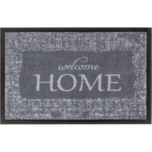 Fußmatte Homelike 063, ASTRA, rechteckig, Höhe 7 mm, Fussabstreifer, Fussabtreter, Schmutzfangläufer, Schmutzfangmatte, Schmutzfangteppich, Schmutzmatte, Türmatte, Türvorleger, In -und Outdoor geeignet grau