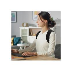 riijk Rückenstabilisator Rücken Geradehalter, Haltungskorrektur für Damen 70-89 cm Brustumfang Schultergurt für den Rücken Brust 70 - 89cm
