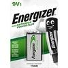 Energizer Accu Recharge Power Plus - Batterie 9V - NiMH - (wiederaufladbar) - 175 mAh