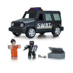 Jazwares Spielfigur ROBLOX - Fahrzeug mit Sound und Licht: SWAT
