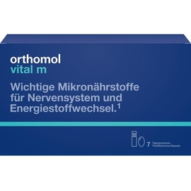 Orthomol Vital M Trinkampullen / Kapseln 7 St.