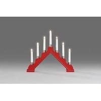 Konstsmide 1041-510 Schwibbogen Warm-Weiß Glühlampe Rot