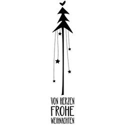 Rayher von Herzen frohe Weihnachten Motivstempel Weihnachtsbaum