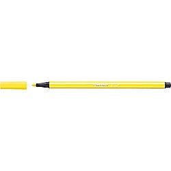 Stabilo Pen 68, Fasermaler/68-24, zitronengelb, 1 mm