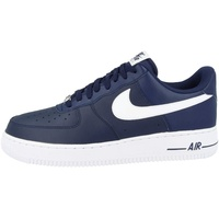 Nike Men's Air Force 1 '07 midnight navy/white 41
