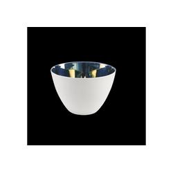 Kaiser Porzellan Windlicht Windlicht Silbergedampft
