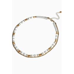 Next Gliederkette Mehrreihige Perlenhalskette