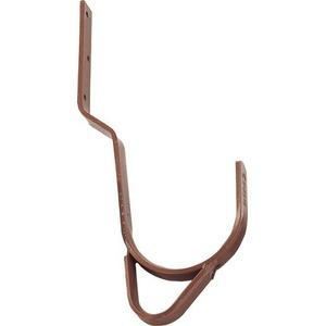 Günzburger Steigtechnik 11208 Dachhaken für Pfannen- und Falzziegel Rot-Braun 1St.