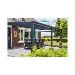 Terrassendach Bausatz TerraPlus Hitzeschutz Solar Contol