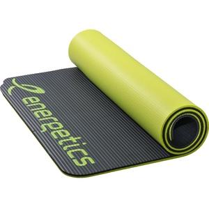 Energetics NBR Professional Gymnastikmatte (Farbe: 904 grey/yellow)