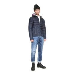 Desigual Beppo - Winterjacke XXL azul artico