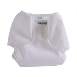 Popolini Überhose PopoWrap WHITE Weiß M 5-10 kg