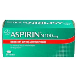 ASPIRIN N 100 mg Tabletten 98 St