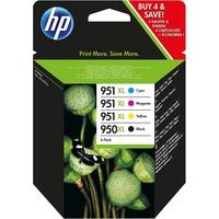 HP 950XL schwarz + 951XL CMY (C2P43AE)